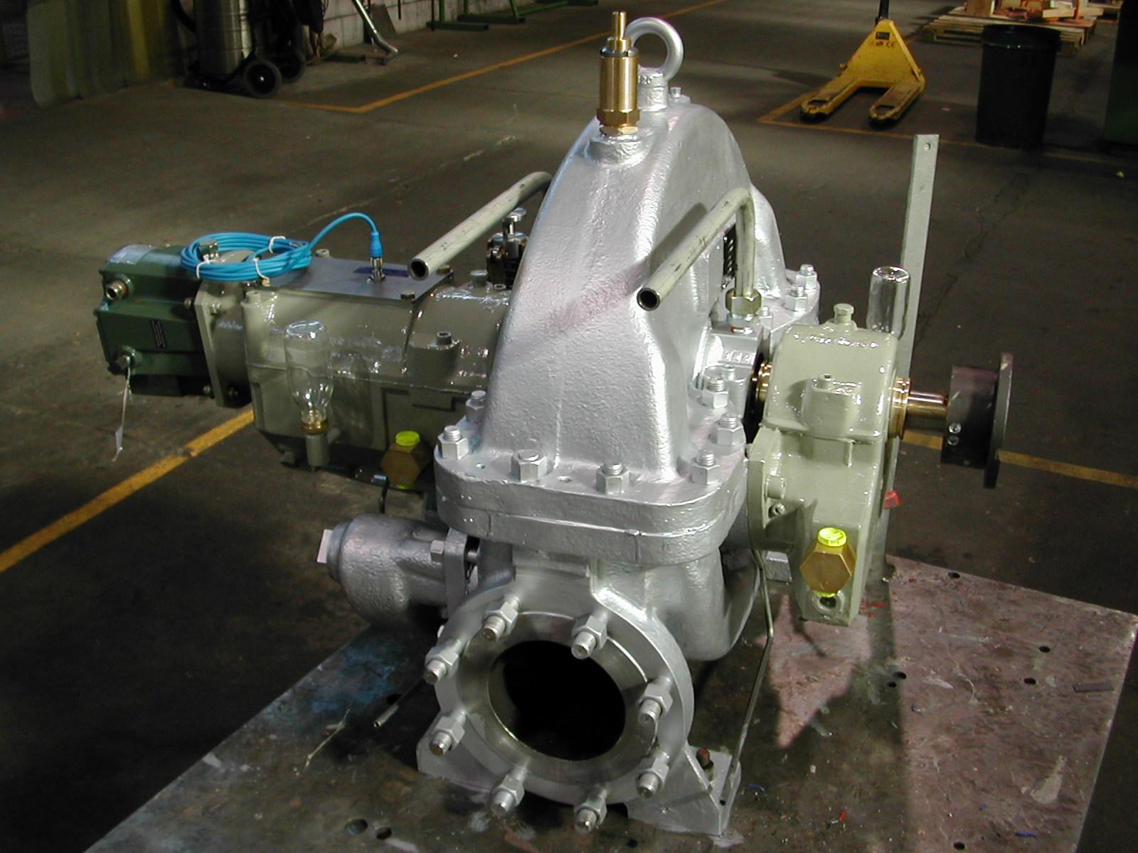 Steam Turbine TL35 Turbolub Turbines  vapeur centrales de